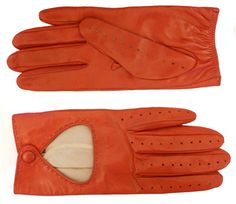 Nappa driving gloves with silk lining - Everchic