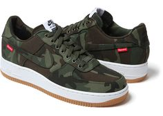 new arrival 35cdd 1dca6 Supreme x Nike Air Force 1 (Holiday 2012)
