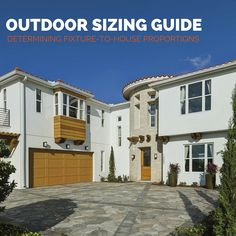 When selecting your outdoor light fixtures, size matters! Here's a guide on how to choose the right lighting in proportion to your house size Outdoor Light Fixtures, Outdoor Lighting, Size Matters, Progress Lighting, Concept Home, Luxury Homes, Home Improvement, Sweet Home, Floor Plans