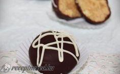 Mogyoróvajas-csokoládés golyó