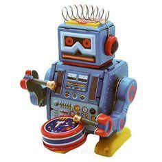 Berty the Drummer Robot ToyPost http://www.amazon.co.uk/dp/B00JR5EOVU/ref=cm_sw_r_pi_dp_.Azjwb0BEM7SR