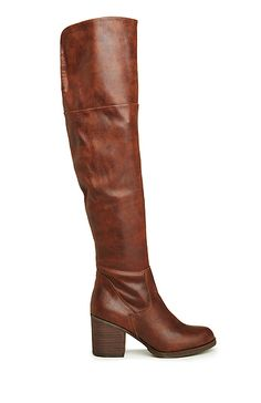 Steve Madden Odyssey Knee High Boots in Brown 6 - 10 | DAILYLOOK