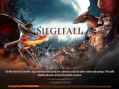 Siegefall   Game Splash Update 1   UI HUD User Interface Game Art GUI iOS Apps Games   Gameloft   www.girlvsgui.com
