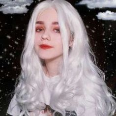 Gamay Hair White Synthetic Lace Front Wigs Luminous Synthetic Wigs Heat Resistant Lace Front Wig for Women Synthetic Lace Front Wigs, Synthetic Wigs, Pretty People, Beautiful People, Festival Make Up, Mode Kawaii, Uzzlang Girl, Lolita, Grunge Hair