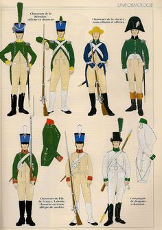 """Truppe delle """"Colonias Insulares"""" 1804-1810 (1)"""
