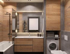 Best Bathroom Designs, Bathroom Design Luxury, Modern Bathroom Decor, Rustic Bathrooms, Modern Bathroom Design, Custom Bathroom Cabinets, Laundry Room Bathroom, Small Bathroom, Bathroom Design Inspiration
