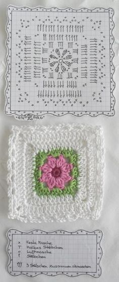 Free crochet diagram by Maison Beauvilain