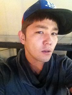 Super Junior's Kangin shares a selca photo on Twitter #allkpop #kpop #SuperJunior #SuJu