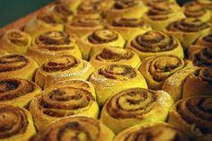 low fat pumpkin cinnamon rolls