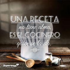 Una receta no tiene alma. Es el cocinero quien se la da. | https://lomejordelaweb.es/