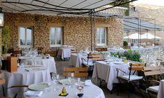 #Hotel Le Mas des Herbes Blanches 5 étoiles, Relais & Châteaux, Lubéron - Provence #France (Maranatha Hotels) - Restaurant gastronomique | #gourmet restaurant
