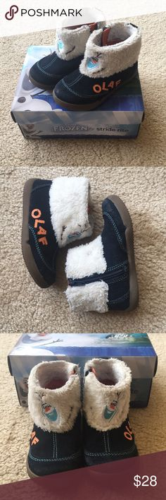 Disney Frozen Olaf Boot Stride Rite, Size 8M*VGUC* Disney Frozen Olaf Boot Stride Rite, Size 8M *VGUC* Stride Rite Shoes Boots