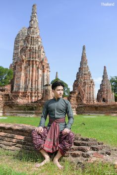 Traditional Thai Clothing, Traditional Outfits, Types Of Dresses Styles, Southeast Asia, Mantra, 18th Century, Countries, Period, Thailand