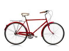 Micargi Kuba NX3 Shimano 3-Speed City/Commuter Bike (RED) Vintage Euro-style (mens)