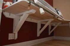 DIY Cantilever Desk