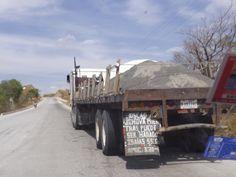 Transporte de cemento