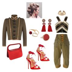 """""""#D20 #fw15"""" by missactive-xtraordinary ❤ liked on Polyvore featuring Dsquared2, Renaud Pellegrino, Balmain, Lanvin and Ginette NY"""