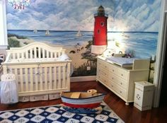Love this!  Must have a lighthouse.  And seals/selkies!  :D  Google Image Result for http://projectnursery.com/wp-content/uploads/2011/05/Daniels-Room.jpg