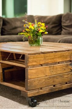 Pallet Coffee Table: Part 2