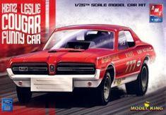 1968 Mercury Cougar 'Kenz & Leslie' Funny Car (1/25) (fs)