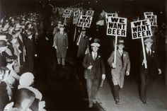 We Want Beer Prohibition Photo Poster Pôster