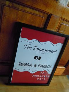 Engagement Posters