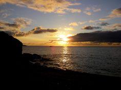 Sunset near Cheticamp