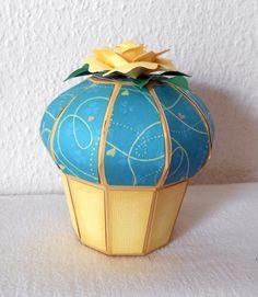 Geschenkkartons - Geschenkbox 'Muffin' - ein Designerstück von gislis bei DaWanda
