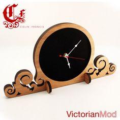 lasered clock