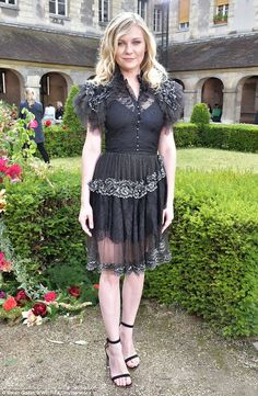 Class act! Kirsten, who rocks Rodarte at the designer's July fashion show, plays the mourning and conflicted Teresa in the fashion designer directer film, which premieres September 22