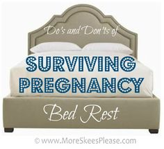 Since this pregnancy has been hell so far, saving this for a just in case -Surviving Pregnancy Bed Rest