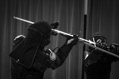 Esgrima alemana, foto de Sword Class NY.