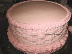 Coleen's Recipes: STURDY BUTTER CREAM FROSTING