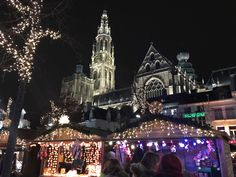 Christmas Antwerp Antwerp, Cathedral, Goals, Christmas, Travel, Xmas, Viajes, Cathedrals, Navidad