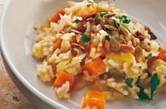 Risotto With Pumpkin, Ginger and Sage Recipe - NYT Cooking