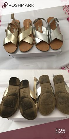 Jesus sandals Lil girls cross sandals gently worn 2 for the price of one. American Eagle by Payless Shoes Sandals & Flip Flops