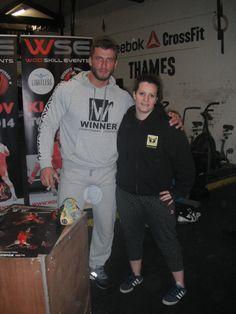 @wanderingweightlifter meets Mr Dimitri Klokov ;) Ahem..