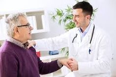 Photo about Doctor with patient in clinic office. Image of pensioner, male, clinic - 67275024 Family Nurse Practitioner, Pulmonary Fibrosis, Chiropractic Wellness, Neurology, Kidney Failure, Medical Prescription, Hearing Aids, Chinese Medicine, Look Fashion