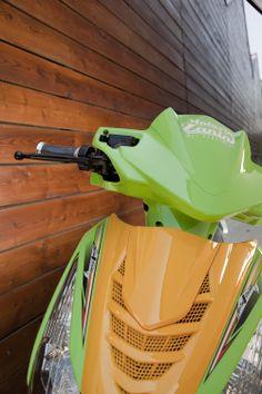 Icaro verde-giallo Motorini Zanini