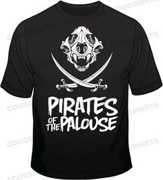 Pirates of the Palouse T-Shirt from CougShirts.com $21.99