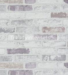 Stein tapete wohnzimmer hell  Tapete Brix Erismann Vliestapete 6703-10 670310 Stein Mauer grau ...