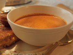 Tomato Soup recipe from Damaris Phillips via Food Network