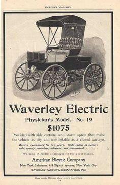 1902 Waverly Electric No 19