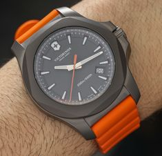 Victorinox Swiss Army INOX Titanium Watch Hands-On - by Ariel Adams - See the…