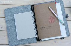 Indigo Autumn: #568 Mein (neuer) Begleiter - ROTERFADEN Roterfaden, Leather Journal, Journal Inspiration, Edc, Notebooks, Indigo, Crafting, Autumn, Tools