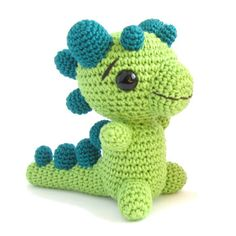 Crocheted Rattle - Baby Dragon By Kristi Tullus - Free Crochet Pattern - (ravelry)