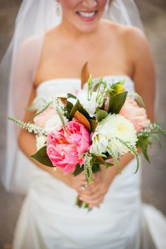 Wonderful summer blooms for this beautiful bride! #santabarbaraevents #wineryweddings #beautiful #truebliss #perfect Amazing photos taken by http://wordenphotography.pass.us/ www.cateringconnection.com