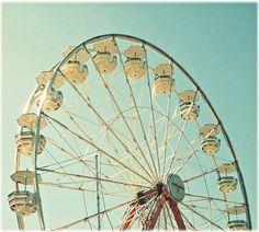 Ferris Wheel Magic by Simply Hue on Etsy: ferris wheel