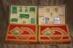 Image detail for -Two 1930s Boxed Tootsietoy Tootsie Toy Furniture Sets Bedroom ...