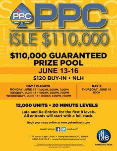 Isle June Event | PPC Poker Tour